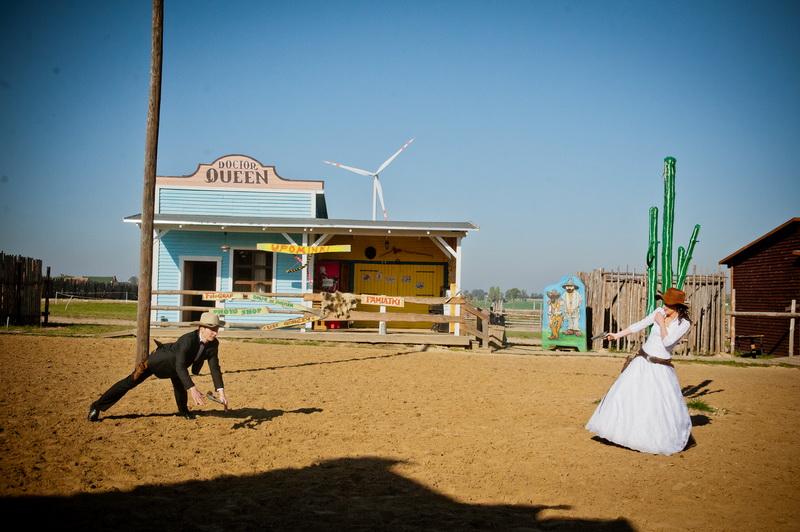 Sesja ślubna na Dzikim Zachodzie