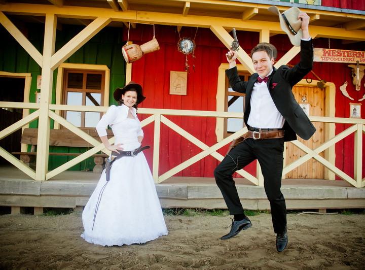 Sesja ślubna na Dzikim Zachodzie - Monika i Michał