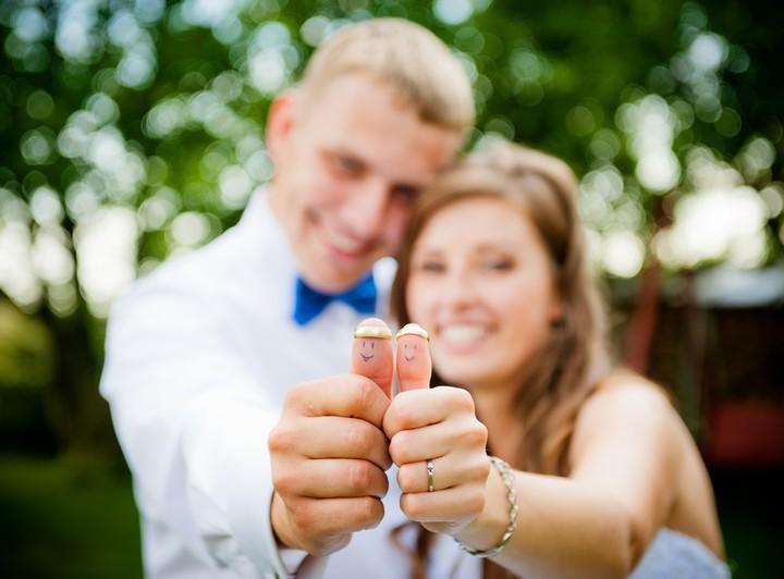 Plener ślubny po burzy