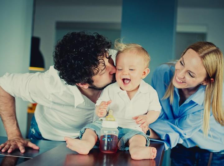 Sesja rodzinna - Bruno z rodzicami